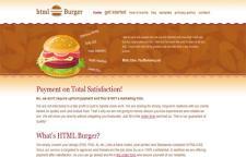 HTML Burger