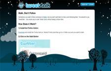 Tweet Stalk