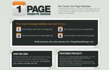 1 Page Website Design
