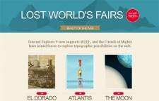 Lost Worlds Fairs