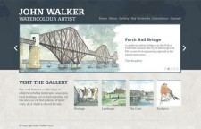 John Walker Art Site