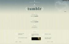 Tumblr Main Layout