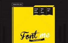 Font Me Im Famous