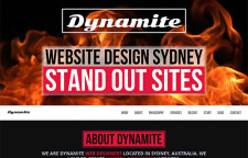Dynamite Web Site Design